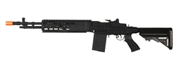 Cyma 032B Full Metal RIS MK M14 Enhanced Battle Rifle (EBR) Electric Airsoft Gun