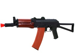 Cyma 035A Full Metal Real Wood AKS 74U Airsoft Gun