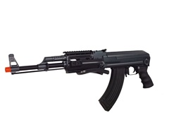 Cyma AK47-S Tactical Metal Gear Box 330 fps Foldable Stock - Black