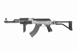 Cyma AK47 Tactical RIS Side Folding Stock Black Airsoft Gun