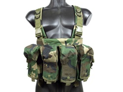 MetalTac Tactical Chest Rig 7 Pocket - Camo