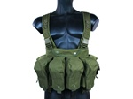 MetalTac 7-Pouch Chest Rig System (Olive Drab)