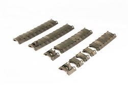 DBoys Armored Modular Rail Covers (Olive Drab/Green)