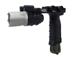 Tactical Flashlight Forward Hand Grip M900 Black