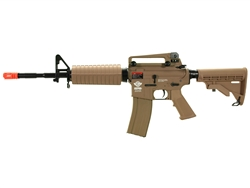 G&G Combat Machine M16 Carbine Gas Blow Back Airsoft Gun (Desert Tan)