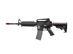 G&G Raider M16 Carbine Electric Blow Back Airsoft Gun (Black)