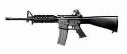 G&G Raider GR16 R4 Electric Blow Back Airsoft Gun (Black)