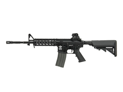G&G CM16 Raider Gas Blow Back Airsoft Gun (Black)