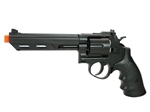 HFC 6 inch Barrel Gas Revolver Airsoft Gun - Black