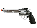 HFC 6 inch Barrel Savaging Bull Gas Revolver Airsoft Gun - Silver