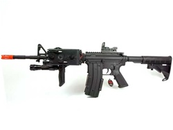 HIT Custom M4 Socom Assault Weapon, BI-5181 Full Metal M4 Socom Mod Airsoft Gun