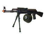 JG AK47 Tactical Machine Gunner Airsoft Electric Gun