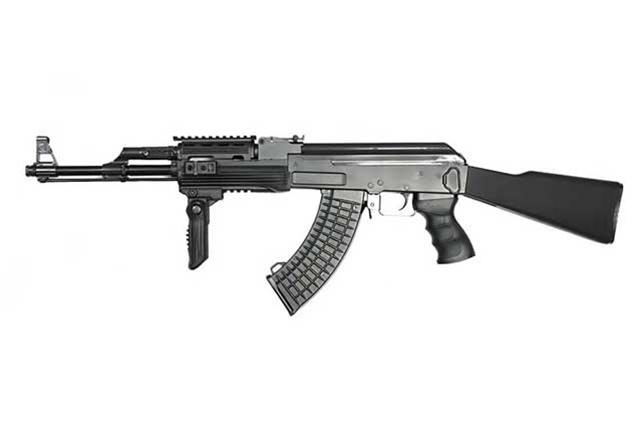 JG AK47 Tactical RIS Full Metal & Upgraded Power Airsoft Gun