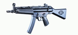 JG KP5 A4 Metal Mechbox Airsoft Electric Gun Sub Machine Gun