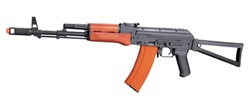 JG AK74S Blow Back Full Metal with Real Wood Airsoft Gun