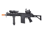 JG 3000 RAS CQB Package with Red Dot Scope and Extendable Bipod Foregrip Package