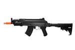 "JG AK47 JG-6808 ""Beta"" CQB Fully Automatic Polymer Body Airsoft Electric Gun with Collapsible Stock"
