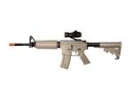 JG M4 A1 Enhanced Dark Earth Tan Version Airsoft Electric Gun [JGF6604-DE] with Red Dot Package