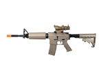 JG M-A1 Dark Earth Tan Enhanced Version Airsoft Electric Gun [JGF6613-DE] with Tan Scope Package