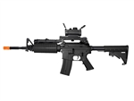 JG M4 A1 Enhanced Black Version Airsoft Electric Gun [JGF6604] with Z-Rail Red Dot Package