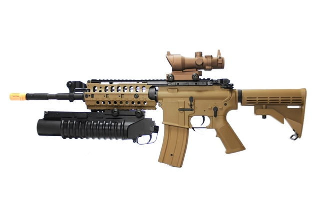 Airsoft m16 grenade launcher