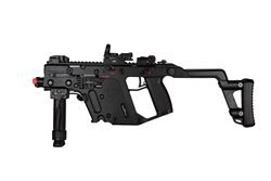 "KWA KRISS Vector SMG NS2 Gas Blow Back Airsoft Package ""Shadow Company"" with Multi Reticle Red Dot Sight and Bipod-Foregrip"