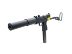 KWA M11A1 SMG with Polar Star Suppressor Gas Blow Back Airsoft Gun Package