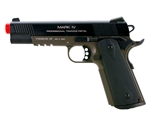 KWA M1911 MKIV PTP Professional Training Pistol Airsoft Gas Blow Back Pistol (OD Green)