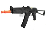 Lancer Tactical AK74U CQB Airsoft Gun 400 Fps Combat Ready LT-07B