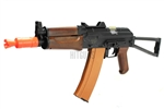 Lancer Tactical AK74U CQB Airsoft Gun 400 Fps Combat Ready LT-07W
