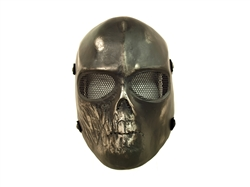 Half Life Skull Skull Style Full-Face Protection Mask (Black)
