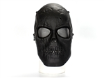 Skull Skull Style Full-Face Protection Mask (Black)