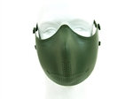 Iron Face Mask Green