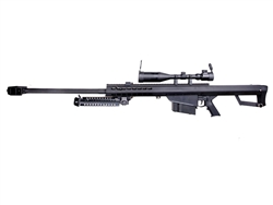"Snow Wolf 33"" Barrel SW99-02A Airsoft Sniper Rifle AEG M99 with 3-9x50 Scope & Bipod Package"