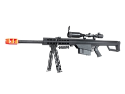 "Snow Wolf 25"" Barrel SW99-02B Airsoft Sniper Rifle AEG M99 with 3-9x50 Scope & Bipod Package"