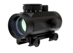 Red Dot Scope 1x40 with Red/Green Dot & 5 level brightness control