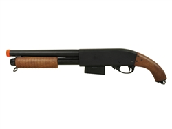 Sawed Off Airsoft Shotgun Full Metal 870