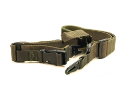 3-Point Woven Canvas Gun Sling (Ranger Green)