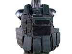 MetalTac Special Force Tactical Vest w/ Full Pouch System + Plate Carrier (Black)