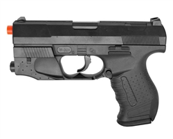 UKARMS M305-R Spring Airsoft Pistol with Laser and Light Module