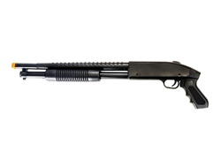 UKArms Sawed-Off 688S Pump-Action Spring Powered Airsoft Shotgun (Black)
