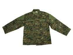 Army Uniform Digital Woodland BDU - XL Size