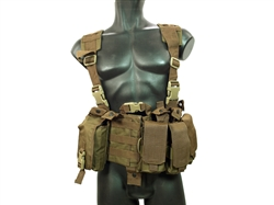 MetalTac Tactical Load Bearing MOLLE Vest (Dark Earth Camo)
