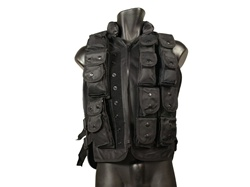 12 Pouch Tactical Swat Vest