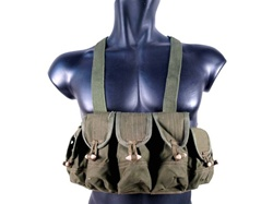 MetalTac SKS Chest Rig OD Green 9 Pockets