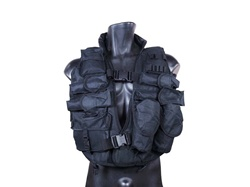 Tactical Vest Black Flak Jacket