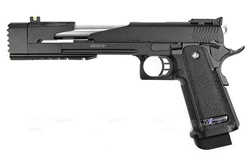 WE High Capa Dragon 7 inch Full Metal Gas Gun (Black)