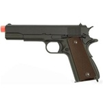 WE Full Metal M1911 Gas BlowBack Airsoft Gun (Metal Grey)
