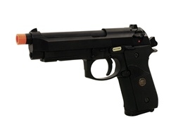 WE M9 PTP Railed Full Metal Blowback Gas Gun (Black)
