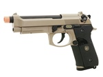 WE M9 PTP Railed Desert Full Metal Blowback Gas Gun (Tan)